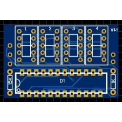 7 Segment PCB 0.36 zoll 4 Zahlen