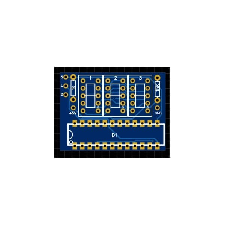 7 segment PCB 0.36 inch 3 Digit