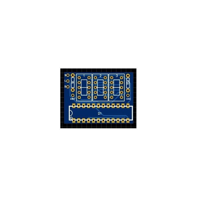 7 Segment PCB 0.36 zoll 3 Zahlen