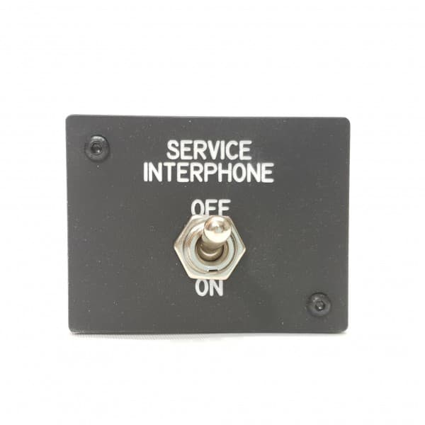 SIMBAY SERVICE INTERPHONE PANEL P&P AFTER OVERHEAD