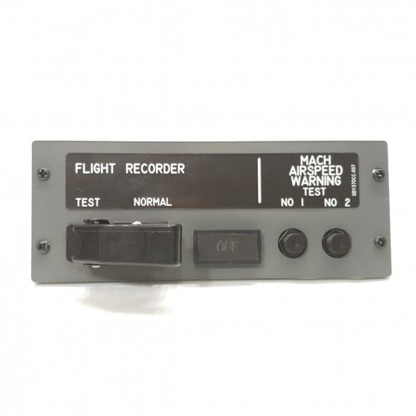 SIMBAY FLIGHT RECORDER AFTER OVERHEAD