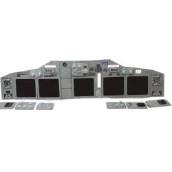 Simbay Plug&Play Boeing 737 MIP Main Instrument Panel
